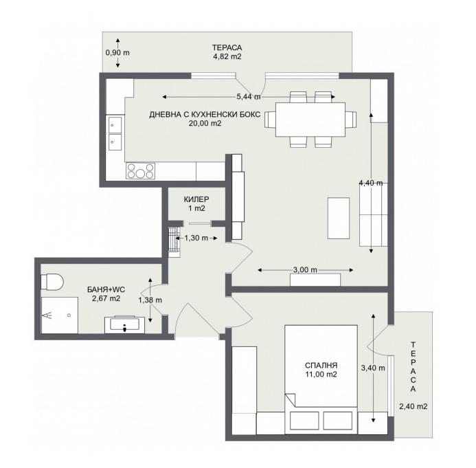 Етаж 2, Апартамент 6