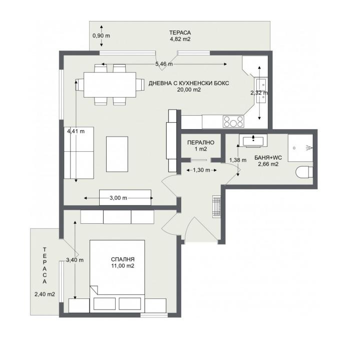 Етаж 3, Апартамент 7